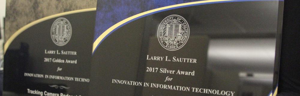 Sautter Award Plaque