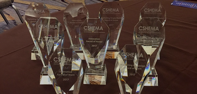 9 CSHEMA awards on display