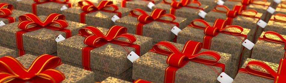 Endless wrapped gifts