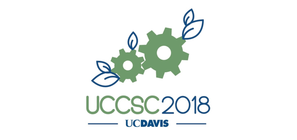 UCCSC 2018 Logo with Gears and Leaves