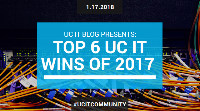 Text: Top 6 UC IT Wins of 2017
