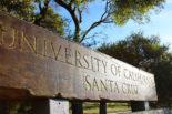 UCSC Entrance Sign