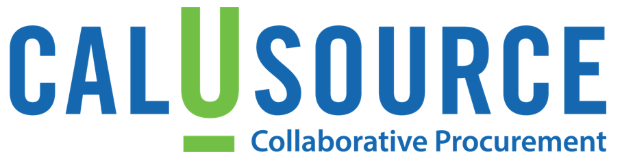 "CalUSource ""Collaborative Procurement"" Logo"