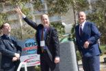 Thomas Trappler displays Epic Award