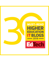EdTech magazine's 2018 Dean's List Badge