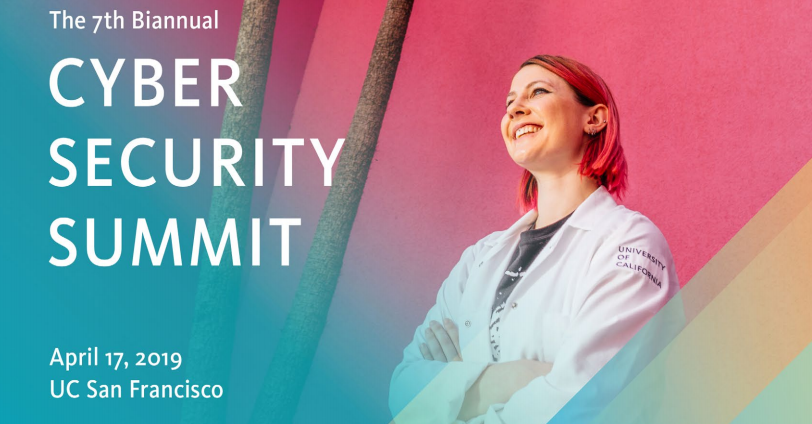April 2019 Cyber Security Summit poster