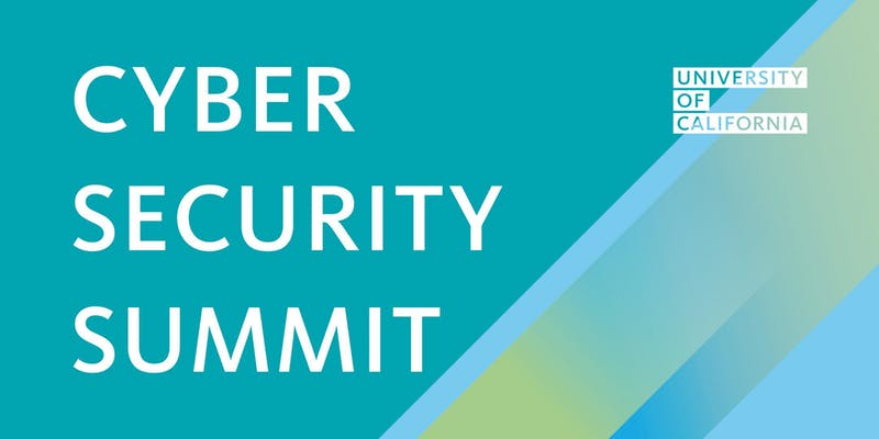 UC Cyber Security Summit banner