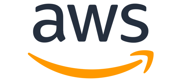 Logo for Amazon Web Services (AWS).