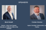 Webinar speakers, Monte Ratzlaff and Christian Schreiber.