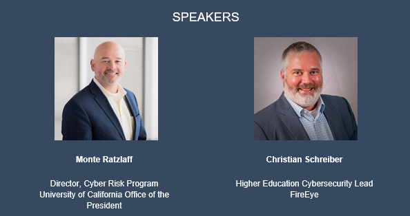 Webinar speakers, Monte Ratzlaff and Christian Schreiber.