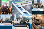 Photo collage from the UCSF Women in Tech panel at Sharecase 2019