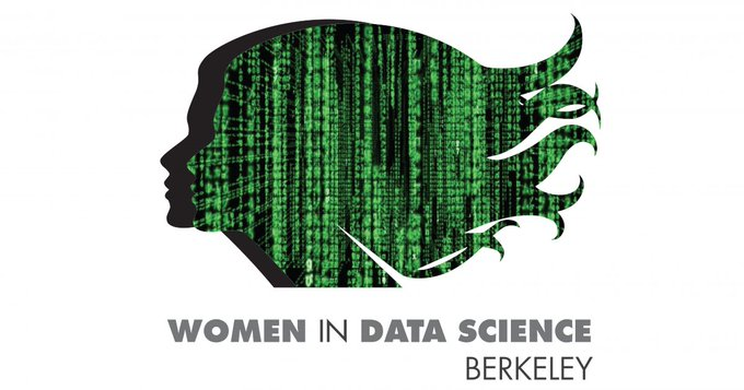 Women in Data Science conference at Berkeley logo