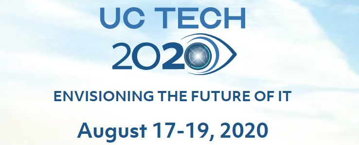 UCTech 2020 Envisioning the Future, August 17-19, 2020