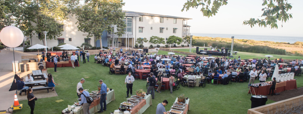 The UCTech 2019 Opening Night Reception, held at UC Santa Barbara