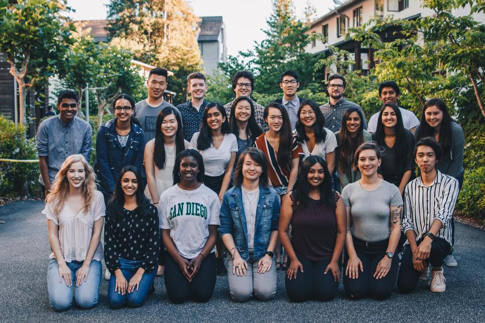 Student organizers of CruzHacks 2020