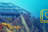 UCSD's Geisel library, under water