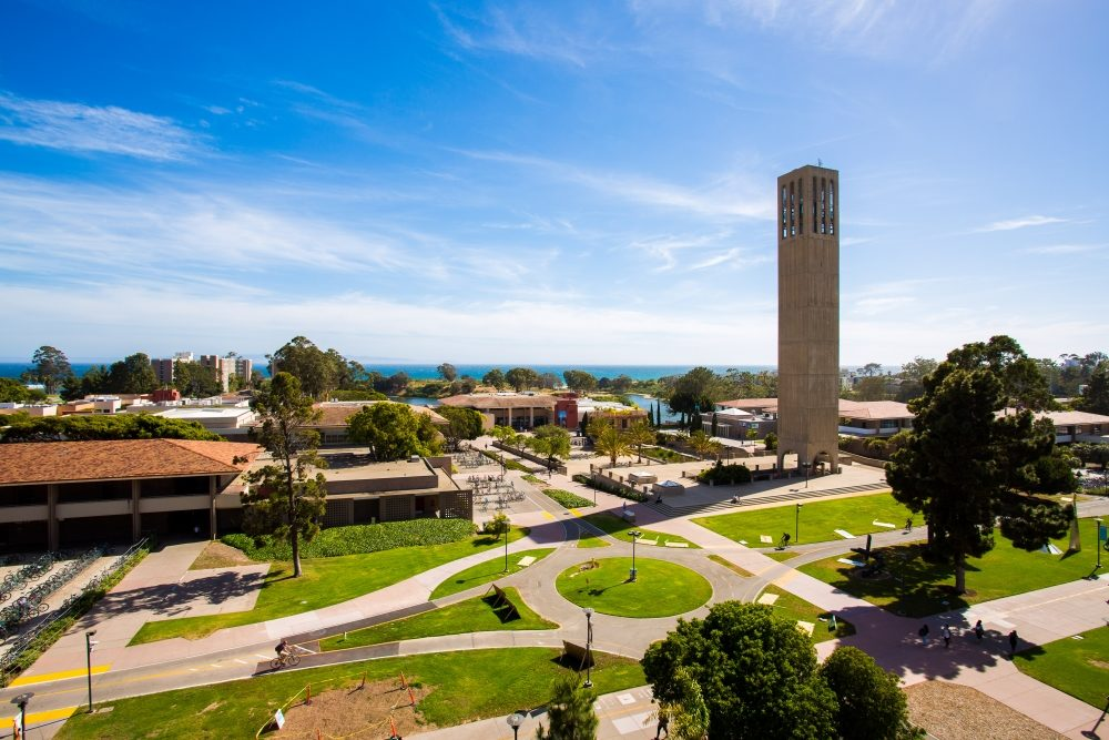 UCSB campus storke tower Photo Credit: MATT PERKO