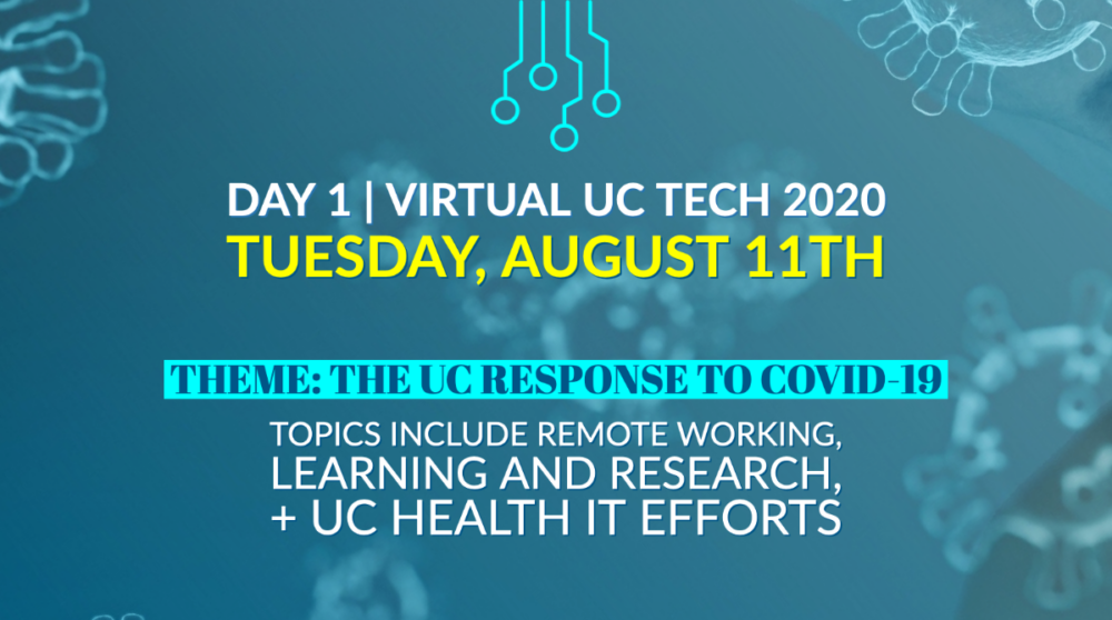 UC Tech Day 1 poster