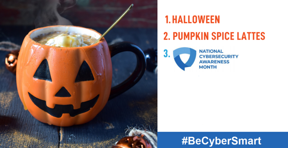 Halloween & National Cybersecurity Awareness Month