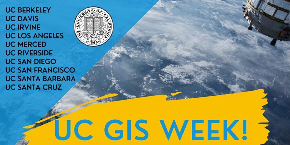 UC GIS Week
