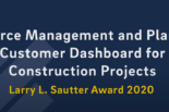 Research Management and Planning Customer Dashboard for Construction Projects