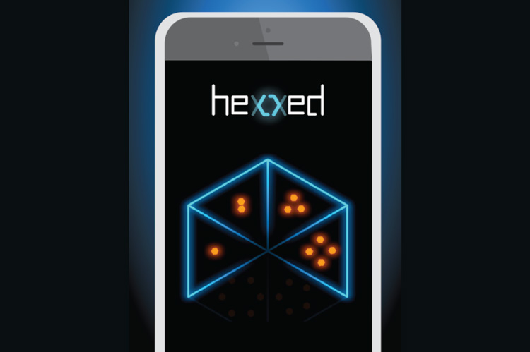 The game app Hexxed