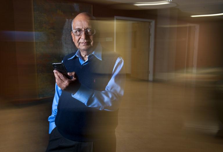 Professor Ramesh Jain of UC Irvine photo: Steve Zylius/UC Irvine communications